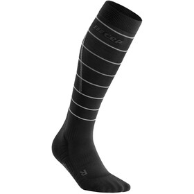 cep Reflective Socks Women, black